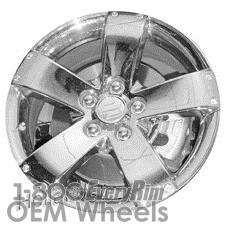 Picture of Suzuki VITARA (2007-2009) 17x7 Aluminum Alloy Chrome 5 Spoke [72700]