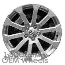 Picture of Suzuki VITARA (2013) 17x6.5 Aluminum Alloy Silver 10 Spoke [72722]