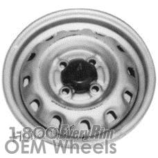 Picture of Daihatsu CHARADE (1988-1992) 13x4.5 Steel Silver 12 Spoke [73130]