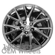 Picture of Infiniti G37 (2013) 19x9 Aluminum Alloy Chrome 7 Y Spoke [73768]