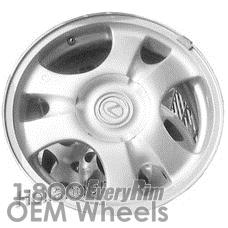 Picture of Lexus GS300 (1995) 16x7 Aluminum Alloy Silver 6 Spoke [74173]