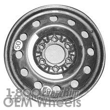 Picture of Hyundai ENTOURAGE (2007) 17x4 Steel Black 12 Hole [74584]