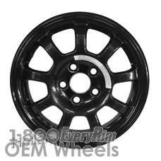 Picture of Kia AMANTI (2007-2009) 16x4 Aluminum Alloy Black 9 Spoke [74604]