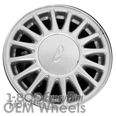 Picture of Daewoo LEGANZA (1997-2002) 15x6 Aluminum Alloy Silver 16 Spoke [75135]