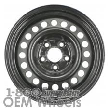 Picture of Oldsmobile ACHIEVA (1995-1998) 15x6 Steel Black 20 Hole [08014]