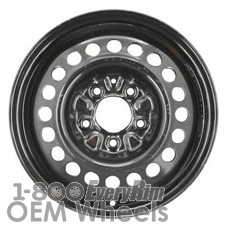 Picture of Buick ALLURE (2005) 15x6 Steel Black 20 Hole [08027]