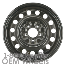Picture of Saturn VUE (2002-2007) 16x6.5 Steel Black 15 Hole [08043A]