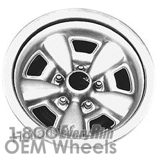 Picture of GMC SPRINT (1971-1972) 15x7 Steel Grey 5 Spoke [00807]
