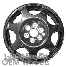 Picture of Cadillac SRX (2010-2016) 18x4.5 Aluminum Alloy Black 7 Spoke [08091]