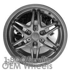 Picture of Smart FORTWO (2015) 15x4.5 Aluminum Alloy Black 12 Spoke [85410A]