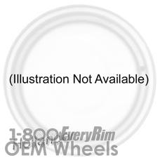 Picture of Mercedes C-CLASS (2014) 19x8 Aluminum Alloy Silver 5 Spoke [86157]