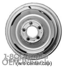 Picture of Chevrolet 10 PICKUP (1971-1987) 15x6 Steel Black 4 Slot [00937C]