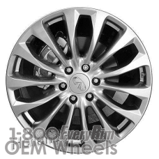 Picture of Infiniti QX80 (2016-2017) 22x8 Aluminum Alloy Silver 14 Spoke [73781]