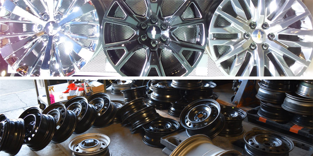 Comparing Alloy Wheel Styles with Steel Rims