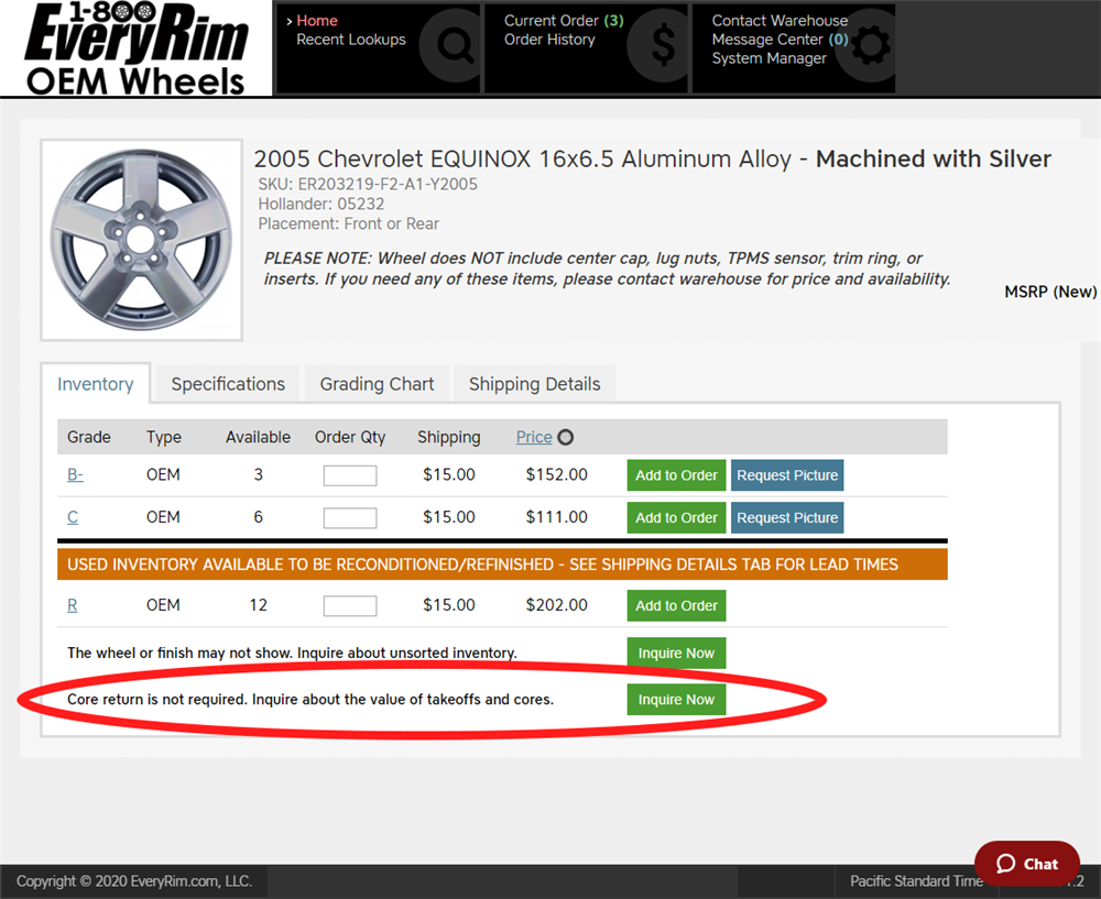 How to sell a take-off wheel through EveryRim.com