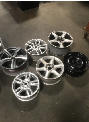 Used original steel and alloy rims