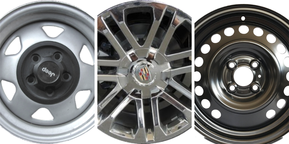 Comparing Steel Rims with Alloy Wheels