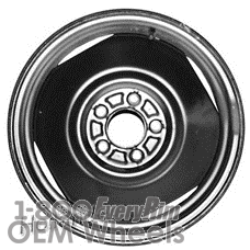 Picture of Jeep CHEROKEE (1984-2001) 16x4 Steel Black 4 Vent [01169]