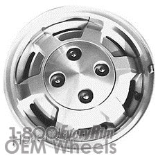 Picture of Ford ESCORT (1981-1983) 13x5.5 Aluminum Alloy Machined with Silver 6 Spoke [01237]