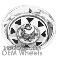 Picture of Dodge 100 PICKUP (1980-1988) 15x7 Steel White 8 Spoke [01243]