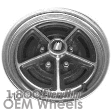 Picture of Buick CENTURY (1982) 13x5.5 Steel Chrome 5 Spoke [01278]