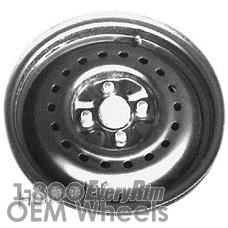 Picture of Chrysler E-CLASS (1983-1984) 14x5.5 Steel Black 18 Hole [01298]