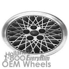 Picture of Oldsmobile CIERA (1984-1988) 14x6 Aluminum Alloy Black  Diamond Spoke [01380]