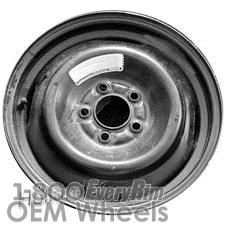 Picture of Ford CROWN VICTORIA (1994-1996) 16x4 Steel Black  Solid Disc [03122]