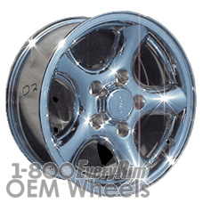 Picture of Ford EXPEDITION (2001-2002) 16x7 Steel Chrome 5 Spoke [03465A]
