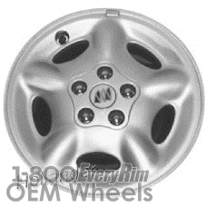 Picture of Buick SKYLARK (1994-1998) 14x6 Steel Polycast 5 Spoke [04017]