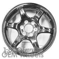 Picture of Cadillac SRX (2006-2009) 17x4 Steel Black 6 Spoke [04500]