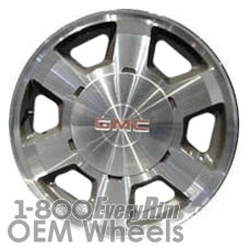 Picture of GMC SIERRA 1500 PICKUP (2002-2004) 16x6.5 Aluminum Alloy Machined with Grey 6 Spoke [05165]