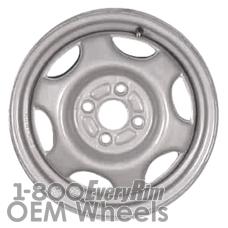 Picture of Geo PRIZM (1993-1997) 14x5.5 Steel Silver 6 Spoke [60165B]