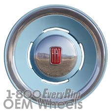Picture of Fiat 500 (2014-2018) 16x6.5 Aluminum Alloy Blue 4 Slot [61674B]