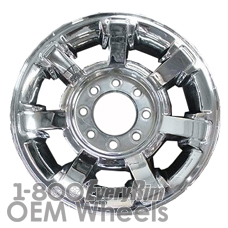 Picture of Hummer H2 (2008-2009) 17x8.5 Aluminum Alloy Chrome 7 Spoke [06309]