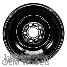 Picture of Acura INTEGRA (1997-2001) 15x4 Steel Black  Solid Disc [63748]