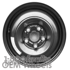 Picture of Acura CSX (2006-2011) 15x4 Steel Black  Solid Disc [63896]