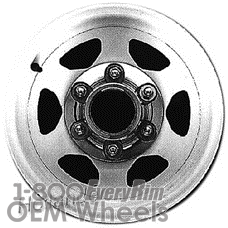 Picture of Isuzu PUP (PICKUP) (1984-1987) 14x5 Aluminum Alloy Machined 6 Spoke [64152]