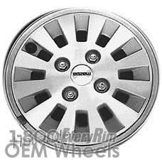 Picture of Mazda RX7 (1984-1985) 14x5.5 Aluminum Alloy Silver 12 Spoke [64678]