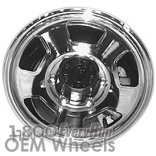 Picture of Mazda B-2600 (1987-1993) 15x6 Steel Chrome 5 Spoke [64692]