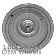 Picture of Mazda MX-5 MIATA (1990-1992) 14x4 Steel Silver  Solid Disc [64721]