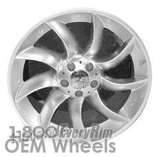 Picture of Mercedes SLR (2005-2009) 19x9 Aluminum Alloy Hyper Silver 9 Spoke [65342]