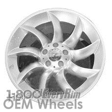 Picture of Mercedes SLR (2005-2009) 19x11.5 Aluminum Alloy Hyper Silver 9 Spoke [65344]