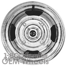 Picture of Subaru BRAT (1980-1983) 13x5 Steel Chrome 4 Spoke [68656]