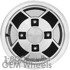 Picture of Subaru BRAT (1980-1983) 13x5 Aluminum Alloy Machined with Black 4 Spoke [68658]