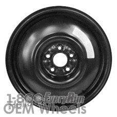 Picture of Subaru LEGACY (2001-2009) 16x4 Steel Black  Solid Disc [68728]