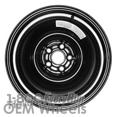 Picture of Subaru LEGACY (2010-2014) 16x4 Steel Black  Solid Disc [68790]