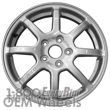 Picture of Subaru LEGACY (2015-2018) 17x4 Aluminum Alloy Silver 8 Spoke [68821]