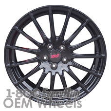 Picture of Subaru BR-Z (2015-2019) 17x7 Aluminum Alloy Charcoal 15 Spoke [68827]