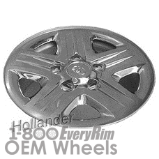 Picture of Toyota TUNDRA (2012-2013) 18x8 Steel Chrome Clad 5 Spoke [69619]